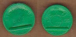 AC -  TRANSPORT TOKEN KIRANARDI MUNICIPALITY  BUS COMPANY GREEN TOKEN JETON - Monetary /of Necessity