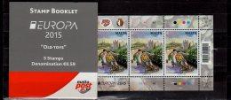 2015 Malta - Europa CEPT - Toys - MH/ Booklet - Full MH - MNH** MH 0-17 - 2015