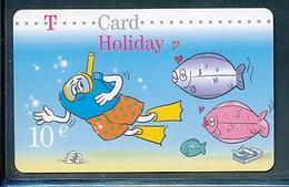 GERMANY - Prepaikarte -T Card -  10 € Holiday - Fisch   - Siehe Scan - Germany
