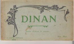 DINAN  -  Carnet De 11 Cartes Détachables - Dinan