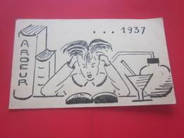 PROMOTION 1937/1940-102é ECOLE NORMALE D'INSTITUTRICES CAEN 14 LISTE NOMS PROMUS PROGRAMME FAIRE-PART DOCUMENT ARCHI7 - Diplomas Y Calificaciones Escolares