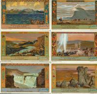 LIEBIG : S_1295 - 'Impression D'Islande - Group Games, Parlour Games