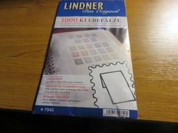 Paquet De 1000 Charnières Lindner - Ander Materiaal