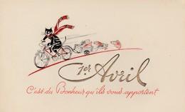 """1er Avril - Chat,poisson - """"C'est Du Bonheur Qu'ils ..."""" - April Fool's Day"""