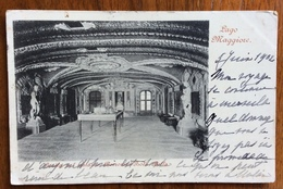 DESTINAZIONI ESTERO CARTOLINA DA ARONA  IN FRANCIA CON FLOREALE 10 C. In Data 5/6/1902 ISOLA BELLA PALAZZO BORROMEO - Altri