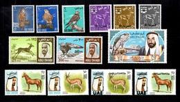 Abu Dhabi Belle Petite Collection Neufs ** MNH 1965/1972. Bonnes Valeurs. TB. A Saisir! - Abu Dhabi