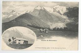 74 Haute Savoie Hotel Bellevue Médaillon Glacier De Bionnassay Ed Numa Allantaz De St Gervais Les Bains - France