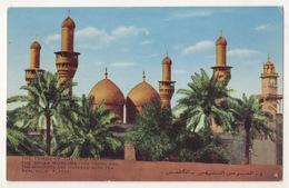 IRAQ BAGHDAD , THE TOMAS OF THE TWO IMAMS OF  POSTCARD - Iraq