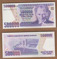 AC - TURKEY -  7th EMISSION 500 000 TL B  UNCIRCULATED - Turquie