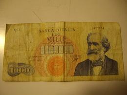 ITALIE  1000 LIRE  1962  VERDI - 1000 Lire