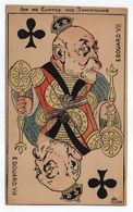 Illustrateur LION --- Jeu De Cartes Des Souverains -- EDOUARD  VII  14 X 8.5 - Histoire