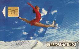 TELECARTE 120 - JEUX OLYMPIQUES D'HIVER ALBERTVILLE 1992 - 06/91 TIRAGE 4 000 000 EX. - Jeux Olympiques