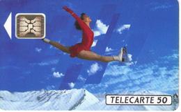 TELECARTE 50 - JEUX OLYMPIQUES D'HIVER ALBERTVILLE 1992 - 06/91 TIRAGE 4 000 000 EX. - Jeux Olympiques