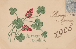 BONNE ANNEE 1905 - New Year