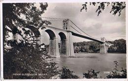 Menai Suspension Bridge -v. 1957 - Anglesey
