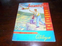 CB83F1 Catalogue Bilingue Modélisme Scientific Avion Bâteau Voilier Auto Moteurs Etc Revell Modelbouw - Catalogi