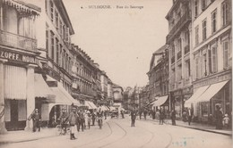 Haut Rhin - MULHOUSE - Rue Du Sauvage - Animée - Mulhouse