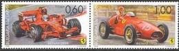 Ferrari Cars -  Bulgaria / Bulgarie 2008 - Set MNH** - Automobili