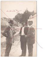 Montjean Sur Loire (49). Hommes Discutant Sur Les Quais Mgr Provost. Carte Photo Voir Scans - France