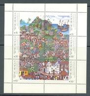 NICARAGUA 1987 DESCUBRIMIENTO DE AMERICA MINI HOJA - YVERT Nº 1209/1214 - Nicaragua