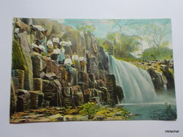 At Chorrera Falls-Panama - Panama