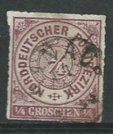 Allemagne   Conf. All. Du Nord   -  Yvert N° 1 Oblitéré    -  Aab 16214 - North German Conf.