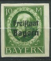 Allemagne    Bavière   Service    Yvert N° 169 B *  -  Aab 16232 - Bavaria