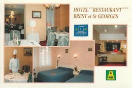 CPM VICHY - Hôtel BREST Et St GEORGES - Vichy