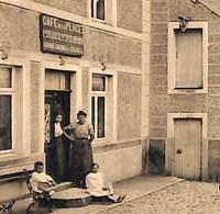 Vierves - La Place (animée, Café De La Place, Avoine, Graines, Edit. E. Douniau) - Viroinval