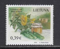 Litauen 2016. Culinary Heritage. 1 W .MNH - Lithuania