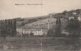 Loire : REGNY : Usine Des Crayons Conté : ( Trace D'élastique Verticale ) - France