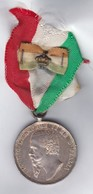 MEDAGLIA VITTORIO EMANUELE  II GUERRA  PER INDIPENDENZA E UNITà D'ITALIA MEDAL - Italia