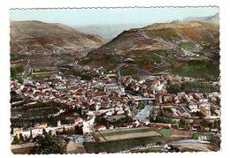 CPSM Photo Couleur Saint Affrique 12 Aveyron Vue Aérienne Générale éditeur APA POUX à Albi N°1 - Autres Communes
