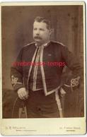 Grand CDV-(CAB) Officier Anglais? Photo Willet à Landport (England) Près Portsmouth - War, Military