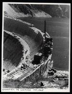 1991  --  CHANTIER DU BARRAGE DE GNIOURE ARIEGE EN OCTOBRE 1946    3P606 - Vieux Papiers