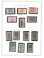 Algérie 1924/32  - Timbres Colis Postaux - 23v  - Neufs  **/* - Algérie (1924-1962)