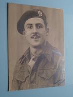 Soldier / Soldat / Milicien - Anno 1945 SGT. L. F. CRUMP 1285680 2713 Squadron ROYAL AIR FORCE C/o B-L-A (???) ! - Guerre, Militaire