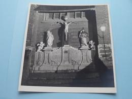 ANTWERPEN Calvariegroep Religieuze Beeldengroep ( Foto's Form. 19 X 17,5 Cm. ) ! - Plaatsen