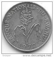 Rwanda 1 Franc 1977  Km 12  Unc !!!! - Rwanda