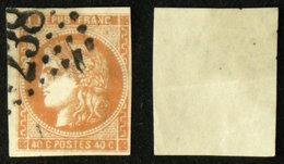 N° 48 40c CERES BORDEAUX B Aspect TB Cote 160€ - 1870 Emission De Bordeaux