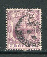 MAURICE- Y&T N°100- Oblitéré - Maurice (...-1967)