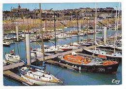 50 Granville N°12636 Le Nouveau Port De Herel En 1978 VOIR ZOOM Bateau SNS De Sauvetage En Mer - Granville