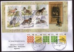 Argentina - 2018 - Lettre - Races De Chien - Lettres & Documents