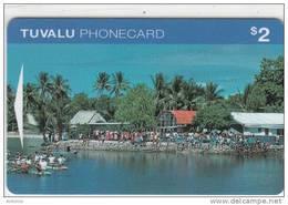 TUVALU - Waterfront, First Issue $2, CN : OITIA/B, Mint - Tuvalu