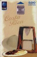 TARJETA TELEFONICA DE COSTA RICA. (CHIP). 05.99 TARJETA TÍPICA 5, ASÍ ES MI TIERRA 2ª EMISIÓN. 060 - Costa Rica