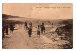 Palestine 007, Jericho, Cairo Postcards Trust Série 214, Caravanes Dirigée Vers La Mer Morte, D'un Carnet - Palestine