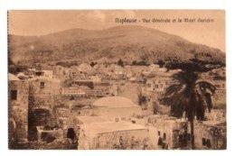 Palestine 009, Naplouse, Cairo Postcards Trust Série 217, Vue Génrale Et Le Mont Garizim, D'un Carnet - Palestine