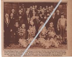 NEDER - OVER- HEEMBEEK...1929...DIAMANTEN BRUILOFT BIJ FRANS EN BARBARA VERTONGEN - Unclassified