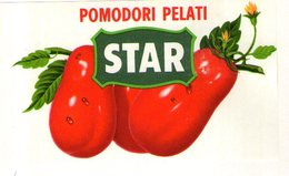 B 1886 - Etichetta, Star Agrate Brianza - Fruits & Vegetables
