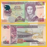 Belize 50 Dollars P-70 2016 UNC - Belize
